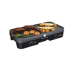 Hamilton Beach 3 out of 1 Electric Smokeless Griddler