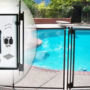 Life Saver DIY Black Pool Fence