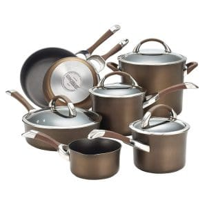 Circulon Symmetry Non-Stick 11-Piece Cookware Set