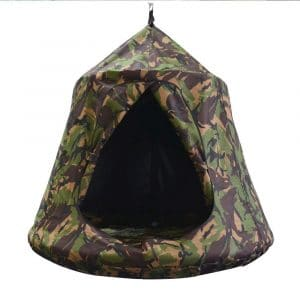 TopEva Waterproof Tree and Ceiling Tent with LED Lights (Camouflage)