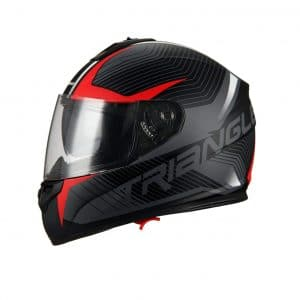 Triangle Street Motorcycle Helmet Medium