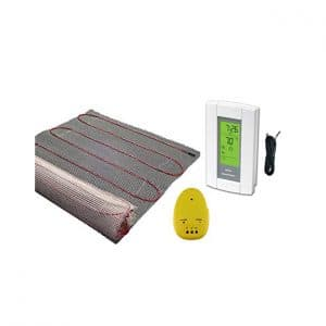20 Sqft Mat, Electric Radiant Floor Heat Heating System
