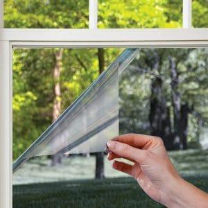 Gila Heat Control Platinum Adhesive Residential DIY Window Film