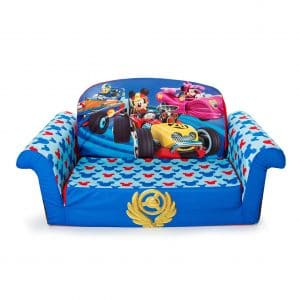 Children's 2-in-1 Foam Sofa by Marshmallow Furniture