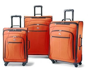 American Tourister Luggage Pop 3 Piece, Orange