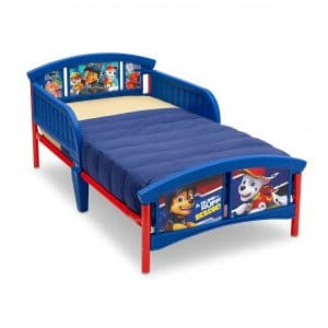 Paw Patrol Delta Children Plastic Toddler Bed