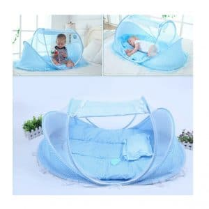 Kids Time Baby Travel Bed Crib Netting