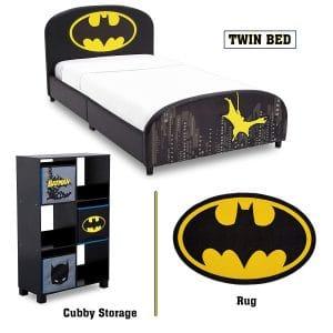 Delta Children Batman Twin Furniture Set Bed