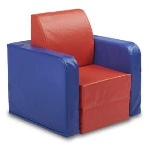 ECR4Kids Convertible Kids SoftZone Club Chair