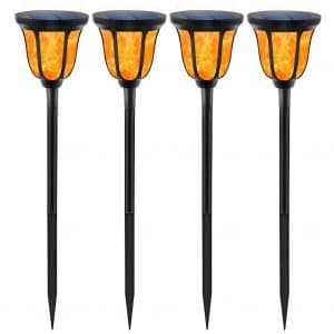 TomCare 96 LED Solar Powered Lights Waterproof Solar Torches Lights