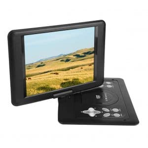 Fosa-18.8 Inch Portable 270 Rotation Swivel Screen DVD /CD Player