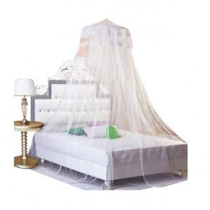 Housweety Dome Bed Canopy Crib Netting, G00616