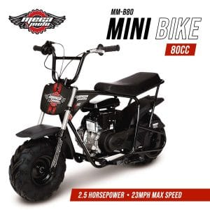 Monster Moto MM-B80-BRS Bike, Black