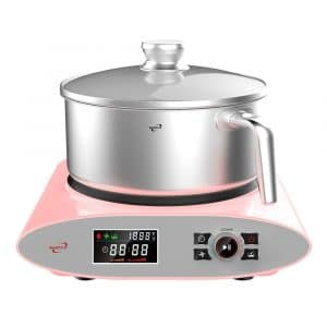 Barcco Electric Automatic Cooking Cooker Stir-fry Stainless Steel Pot
