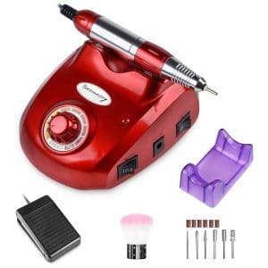 Bermunavy Electric Nail Drill for Salon as well as Home Use