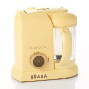 BEABA Babycook Macaron 4-in-1 Steam Cooker and Blender