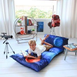 Butterfly Craze Kid's Pillow Bed