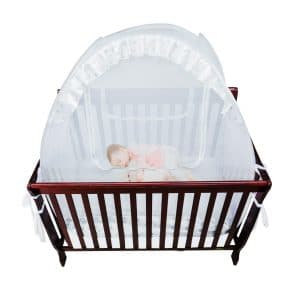 Houseables Baby Cribs Safety Net Bed Netting