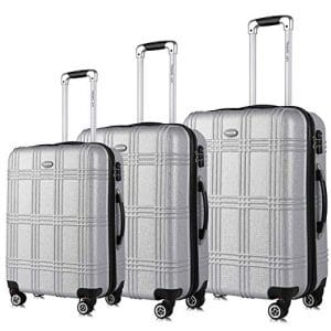 Travel Joy Expandable Luggage Set, lightweight Hardside Sets