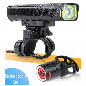 BrightRoad The Original LED Bicycle Rechargeable Light Set