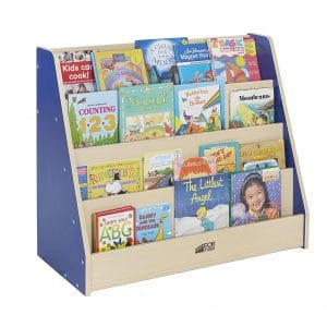 ECR4Kids 4-Tier Colorful Essentials Book Display Stand