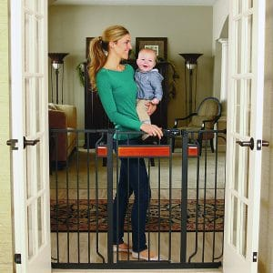 Regalo Home Accents Extra Tall and Wide Walk-Thru Baby Gate