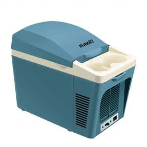 SUAOKI Portable Electric Cooler & Warmer, 7 Quart (Blue)