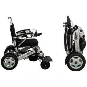 1. Sentire Med Forza Mobility Compact Aid Wheel Chair Motorized Wheelchair