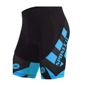 Sponeed Bicycle Pants for Men Padded Short