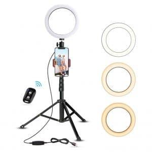 UBeesize 8 Inch Selfie Ring Light