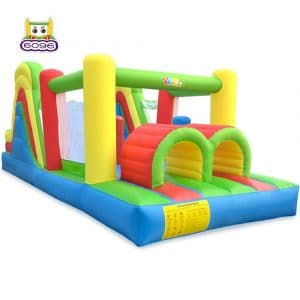YARD Giant Inflatable Obstacle 6-in-1 Slide Bounce