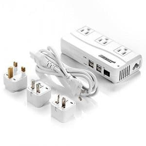 BESTEK Universal Travel Adapter with 6A 4-Port