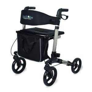 Health Line Compact Rollator for Seniors