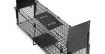 HopeSun Collapsible 2-doors Humane Live Animal Trap
