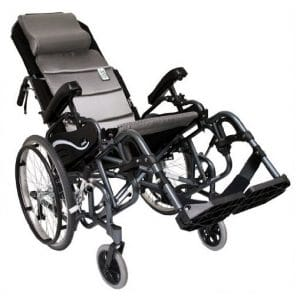 10. Karman VIP-515-18 20 inches Rear Wheels Foldable wheelchair