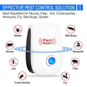 Kpow 2019 UPGRADED 6 Pack Pest Ultrasonic Repellent