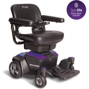 New GO Chair Pride Mobility Travel Electric Powerchair