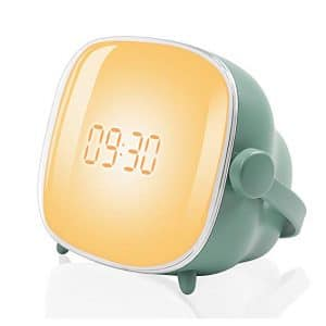 10. Tubeshine Wake up Light Sunrise Alarm Clock with Snooze Function