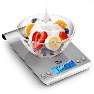 Uten Ultra Slim Digital Kitchen Scale