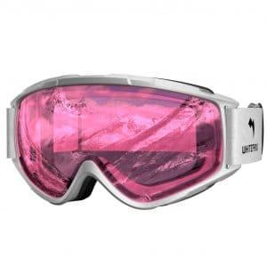10. WhiteFang Ski Goggles