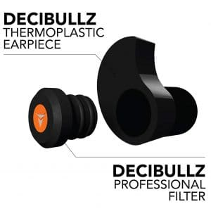 Decibullz Percussive Filters Hearing Protection