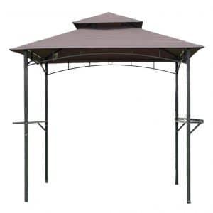 FDW 8'x 5'BBQ Grill Gazebo Barbecue Canopy Tent