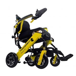 2. Forcemech Voyager R2 Folding Ultra-Portable Power Wheelchair