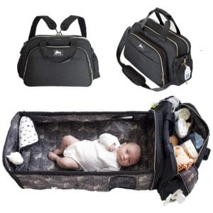 Laluka 3-in-1 Diaper Bag Backpack for Traveling