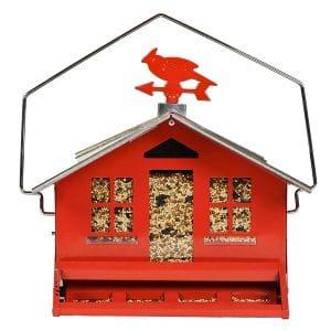 Perky Pet Squirrel-Be-Gone Bird Feeder