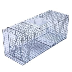 Trapro Large Collapsible Humane Live Animal Cage Trap