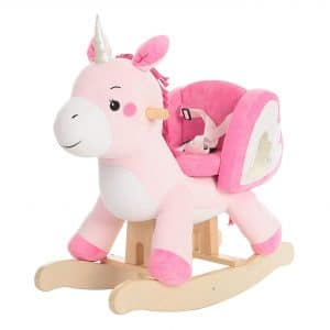 Unicorn Rocking Horse by labebe