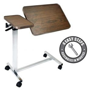 Vaunn Medical overbed table
