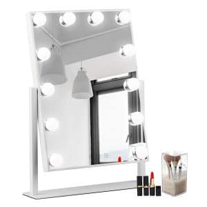 WAYKING Makeup Mirror Lighted Vanity with Lights