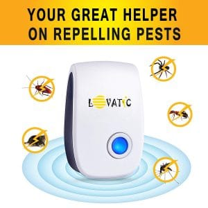 LOVATIC 6 Packs Ultrasonic Pest Repellent